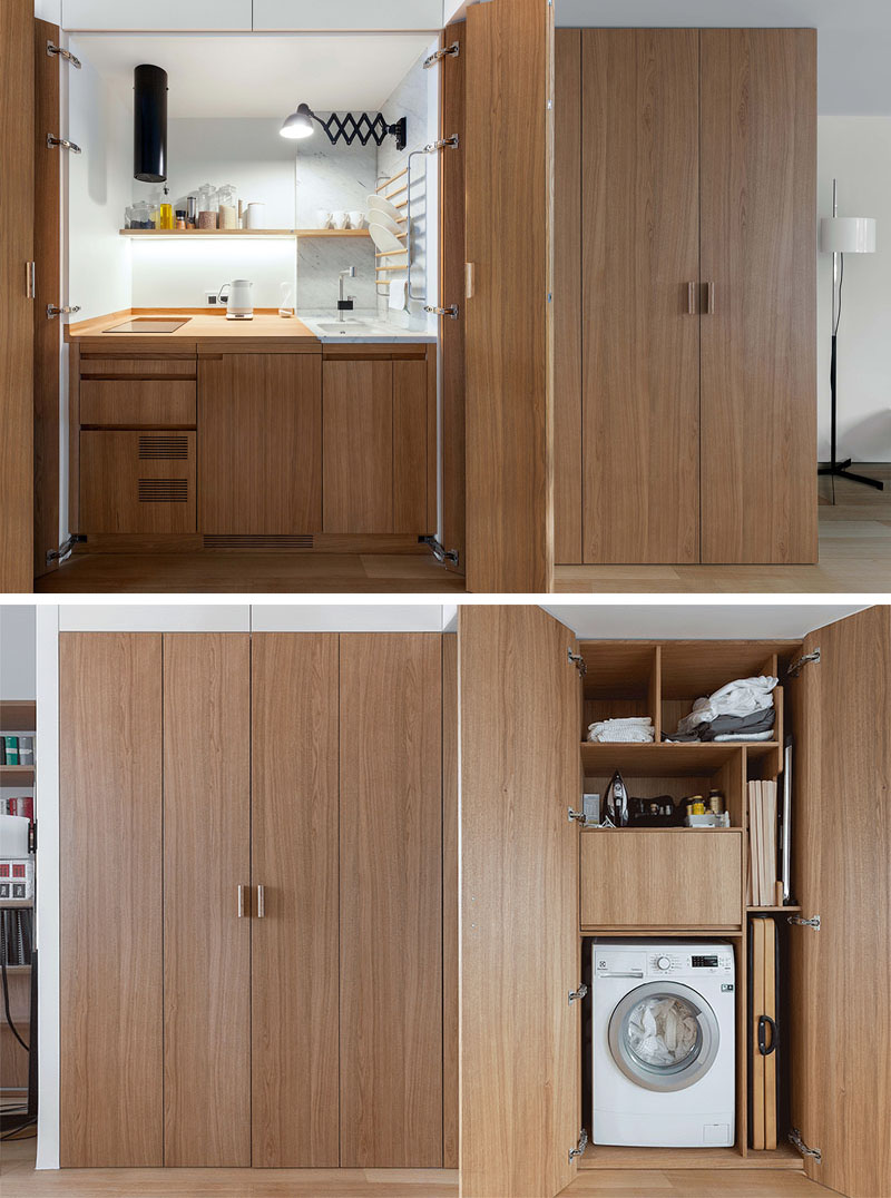 Small Apartment in Moscow, Russia by Studio Bazi