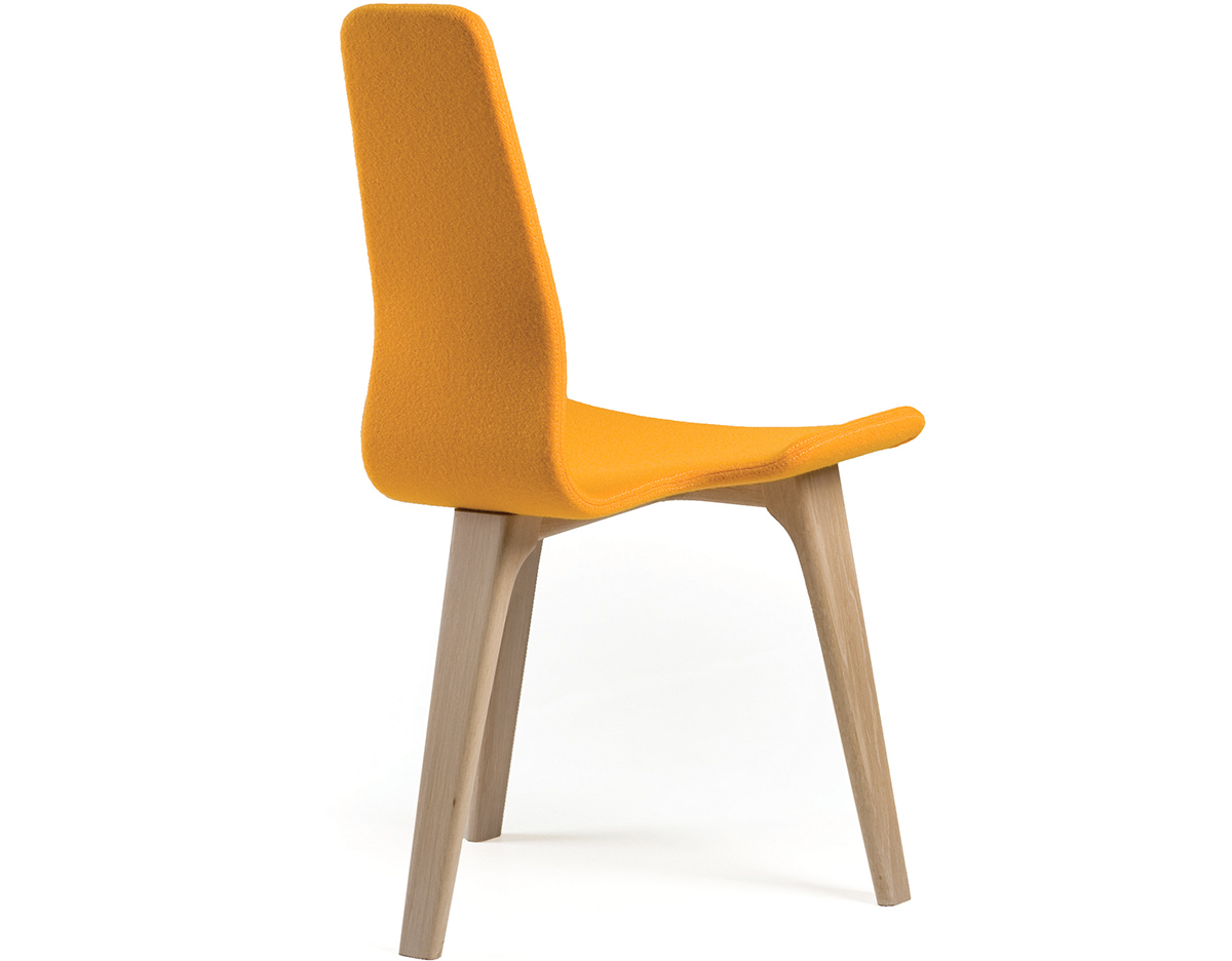 Tapas 348s Upholstered Dining Chair by Matthew Hilton for De La Espada