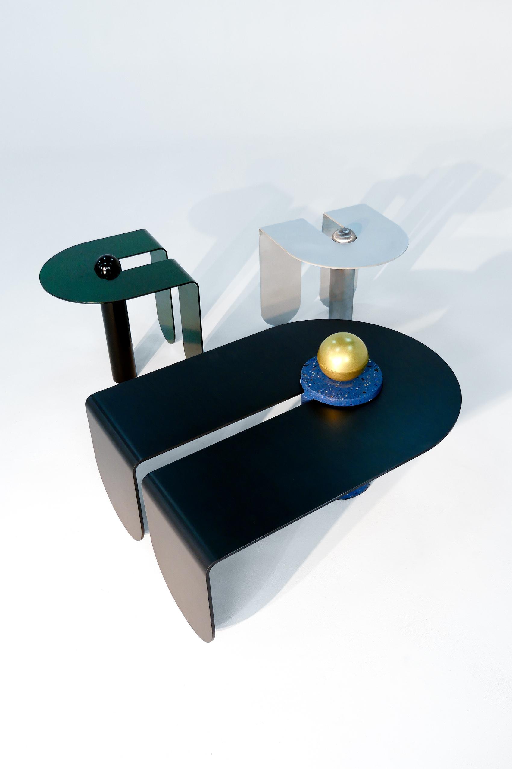U&I Coffee Table by Birnam Wood Studio, Suna Bonometti