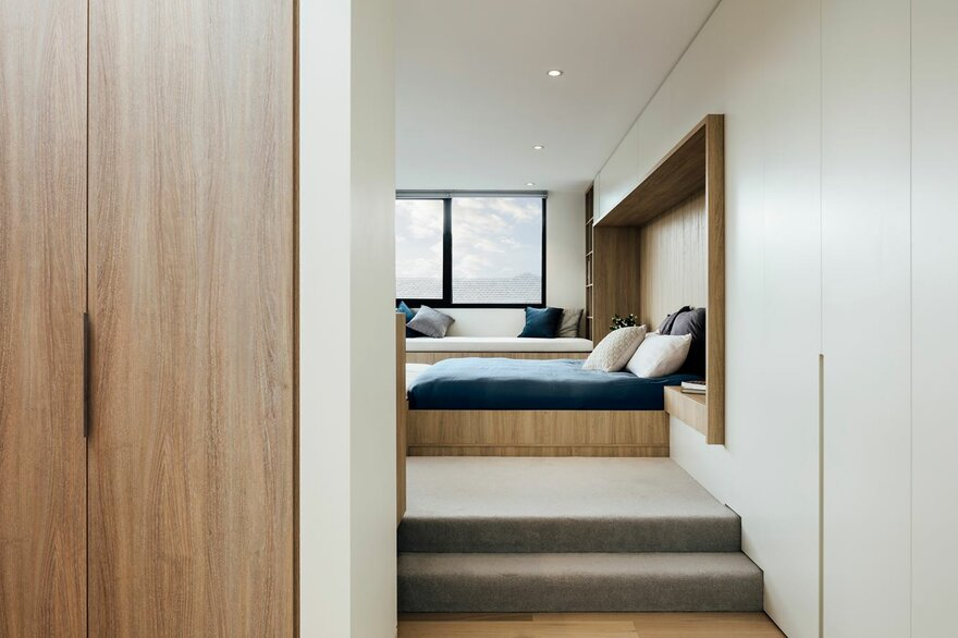 Delightful Penthouse Extension by Pleysier Perkins in Armadale, Victoria, Australia