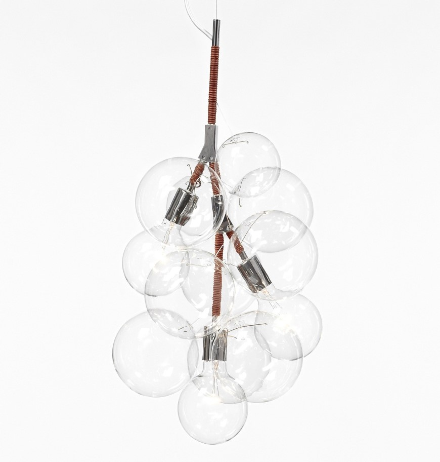 Bubble Chandeliers by Pelle Designs in Brooklyn, NY, USA