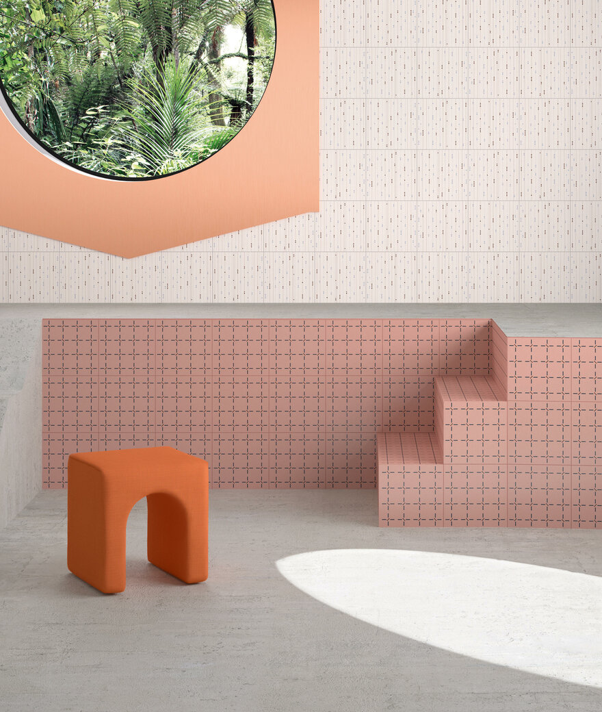 Confetti Tiles Collection by Marcante-Testa UdA Architects in Italy