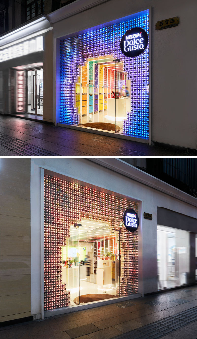 Creative Retail Facade by SODA Architects in Shanghai, China