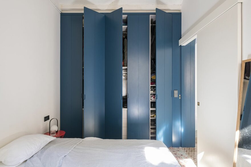 Contemorary Flat by Colombo and Serboli Architecture in Barcelona, Spain