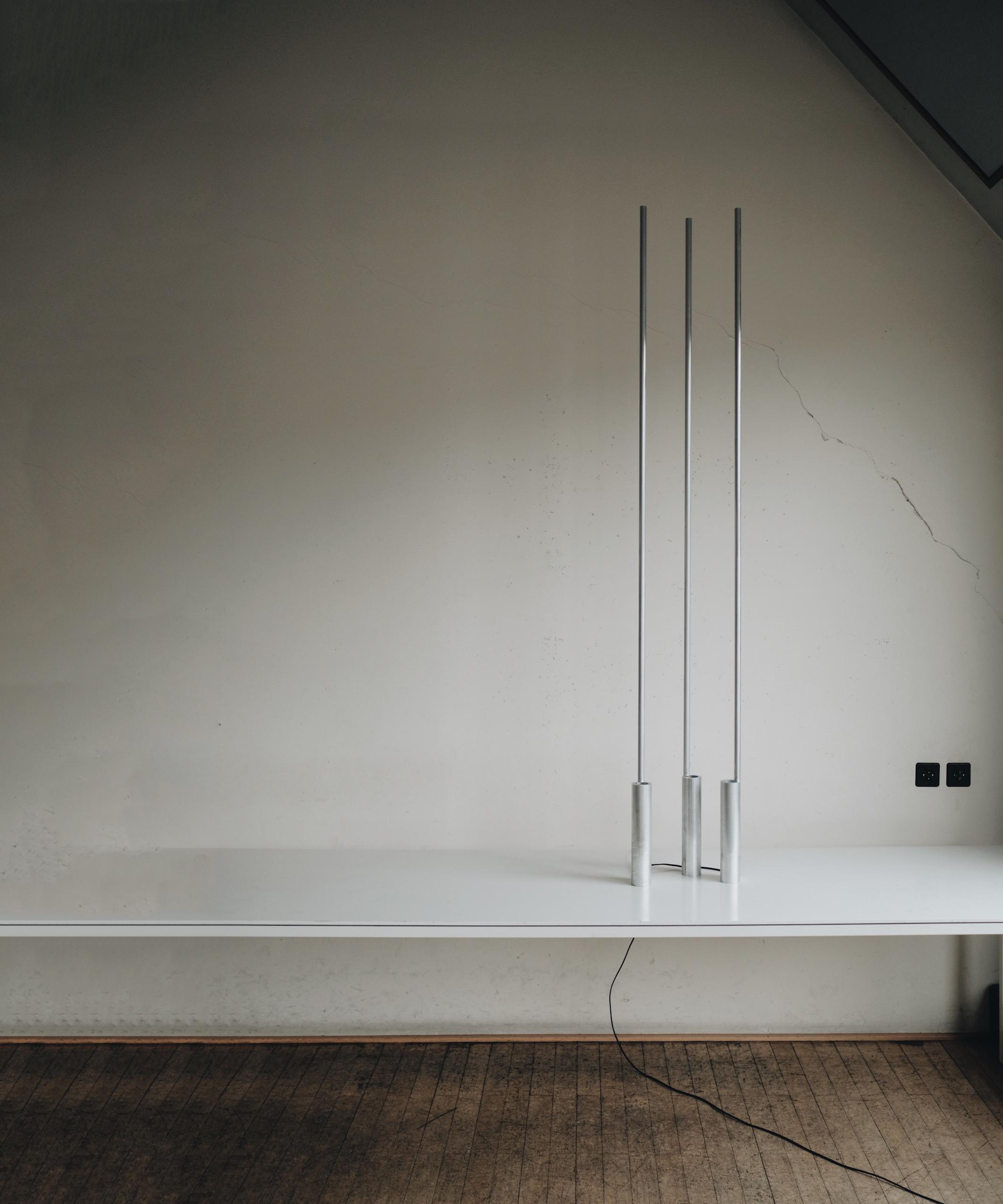 """Minimalist Floor Lamp """"Altitude"""" by Raphael Kadid"""
