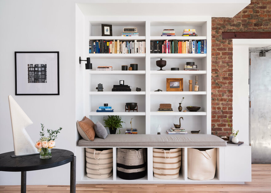 Industrial Cast Iron Soho Loft by Becky Shea Design in New York, USA