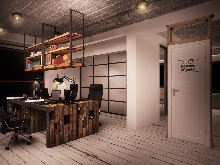 Industrial IT Office by Ezzo Design in Timisoara, Romania