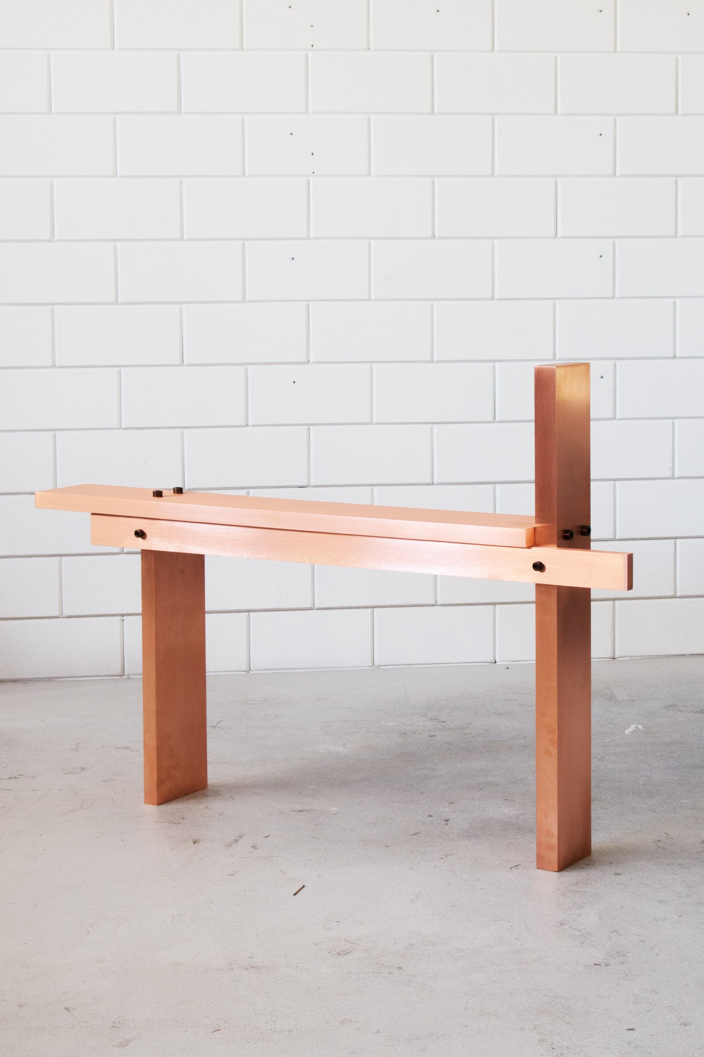 Minimalist CB01 Bench by Johan Viladrich