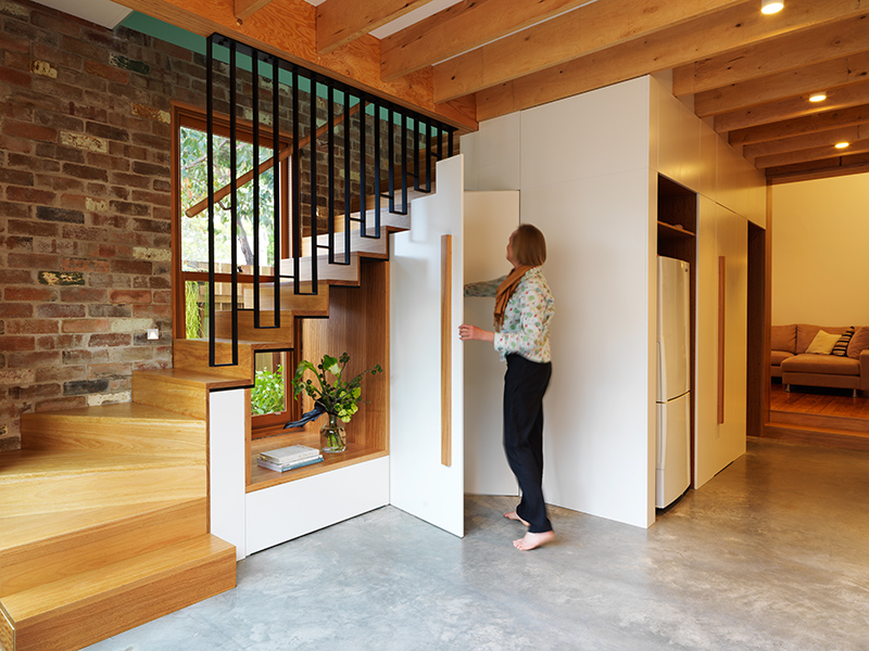 Modern Stair Window Design by Anderson Architecture in Sydney, Australia