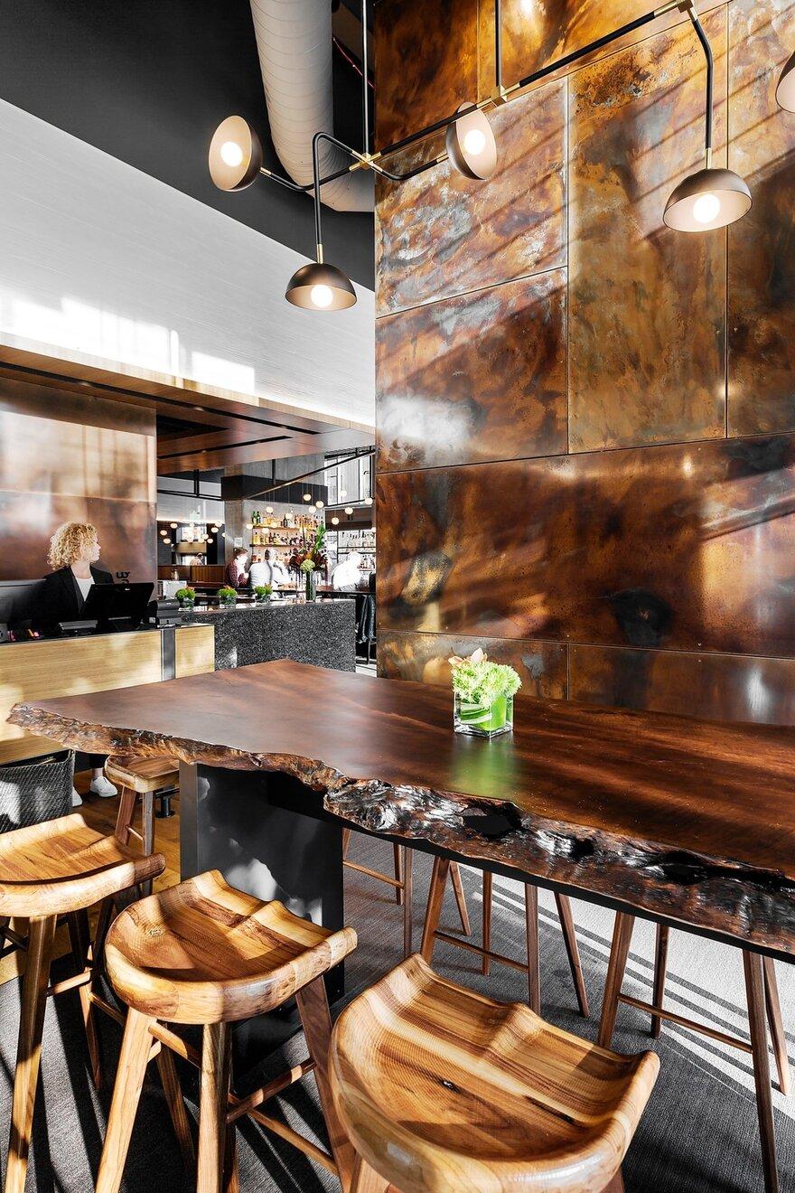 Wild Ginger Denny Triangle by SkB Architects in Seattle, Washington, United States