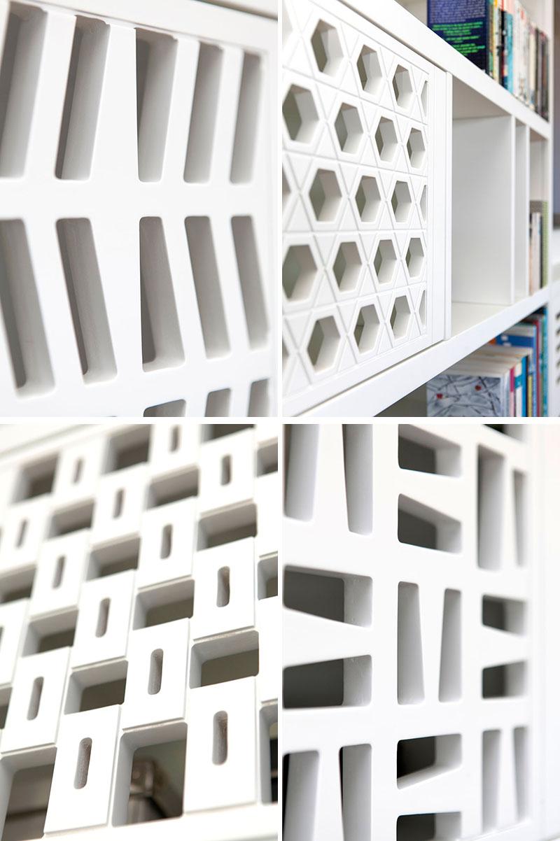 A Custom Built-In Shelving Unit by Sarit Shani Hay in Tel Aviv, Israel