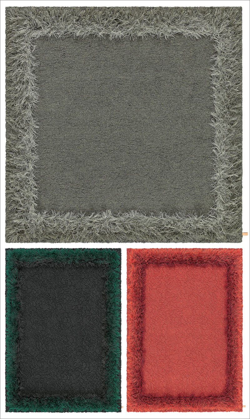 "Modern Rug Design ""Feather"" by Kasthall"