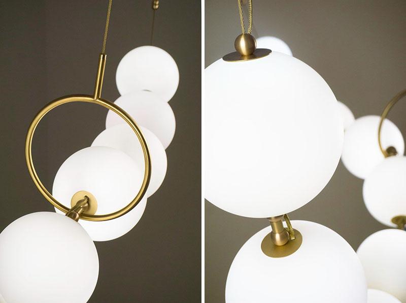 Sculptural Lighting Design 'Coco' by Larose Guyon