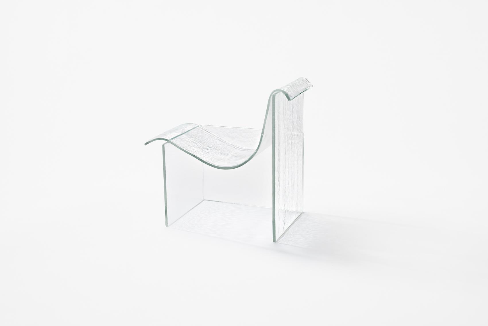 "Minimalist Furniture Collection ""Melt"" by nendo for Wonderglass"