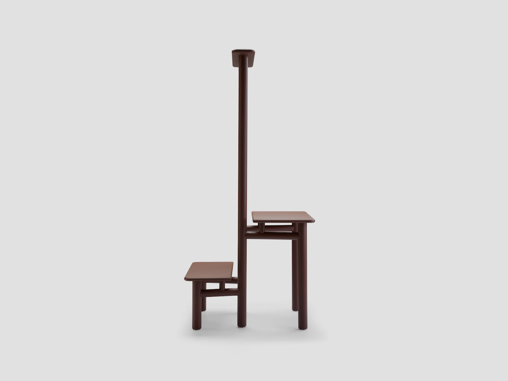 "Minimalist Shelving Piece ""Binomio"" by Giuseppe Arezzi"