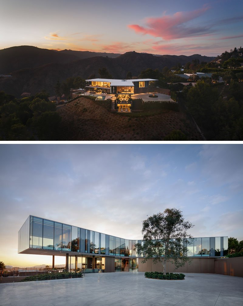 The Orum Residence by SPF:architects in Bel-Air, California