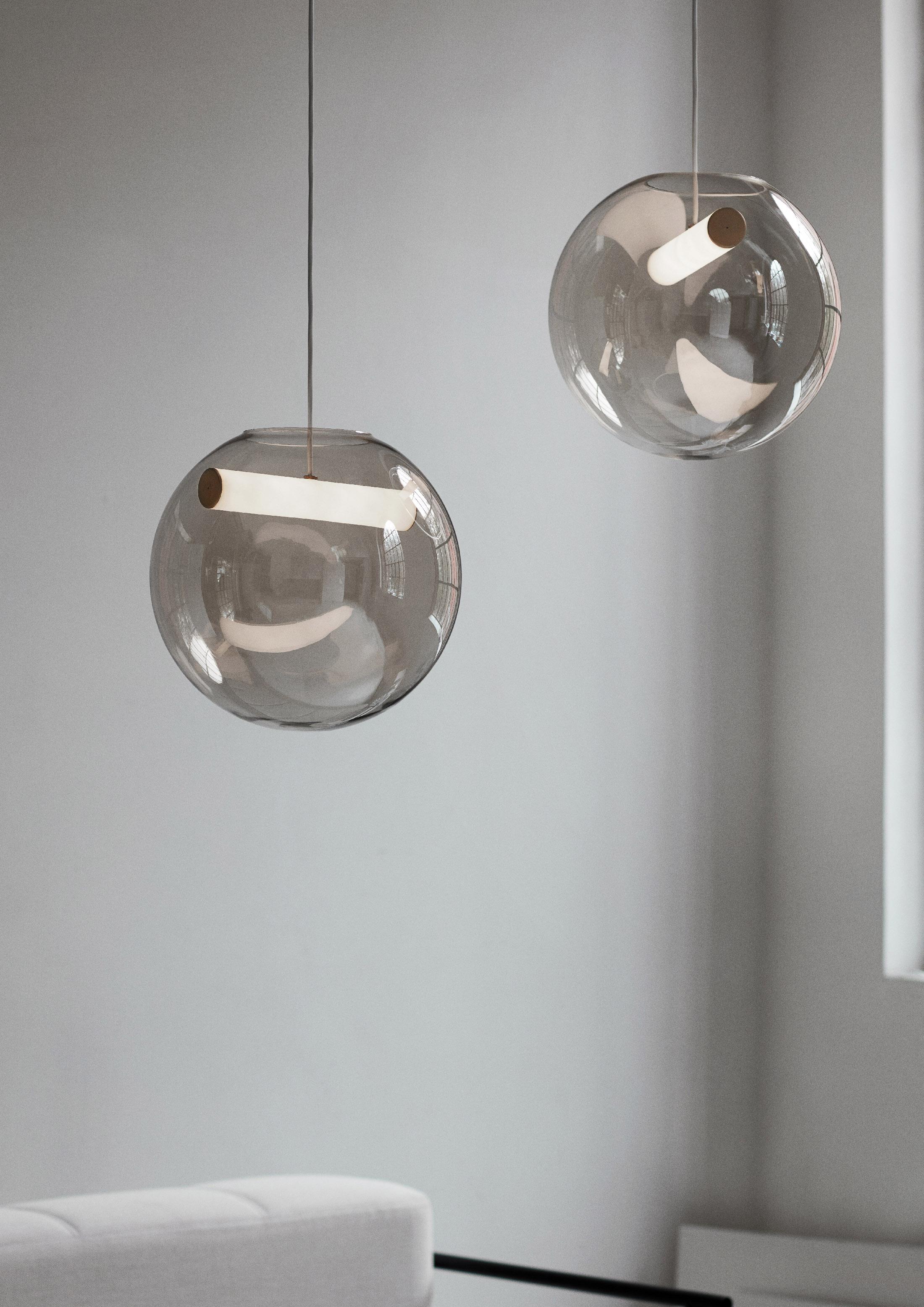"Minimalist Pendant Lamp ""Reveal"" by Silje Nesdal"