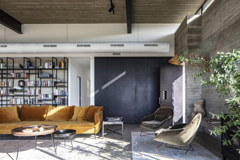 Bare House by Jacobs-Yaniv Architects in Tel Aviv-Yafo, Israel
