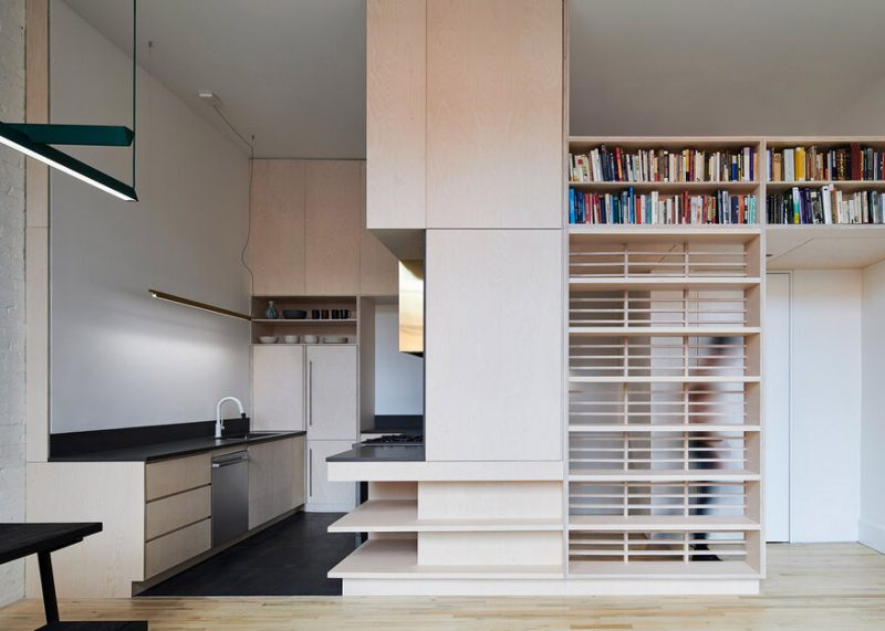 Brooklyn Apartment Renovation by Light and Air Architecture in Brooklyn, New York, United States