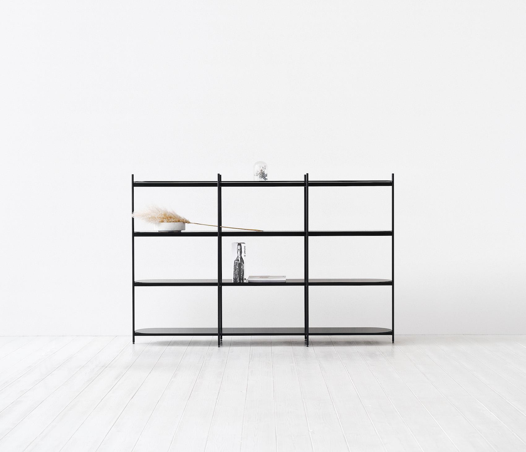 """Minimalist Shelf """"Cross"""" by etc.etc."""