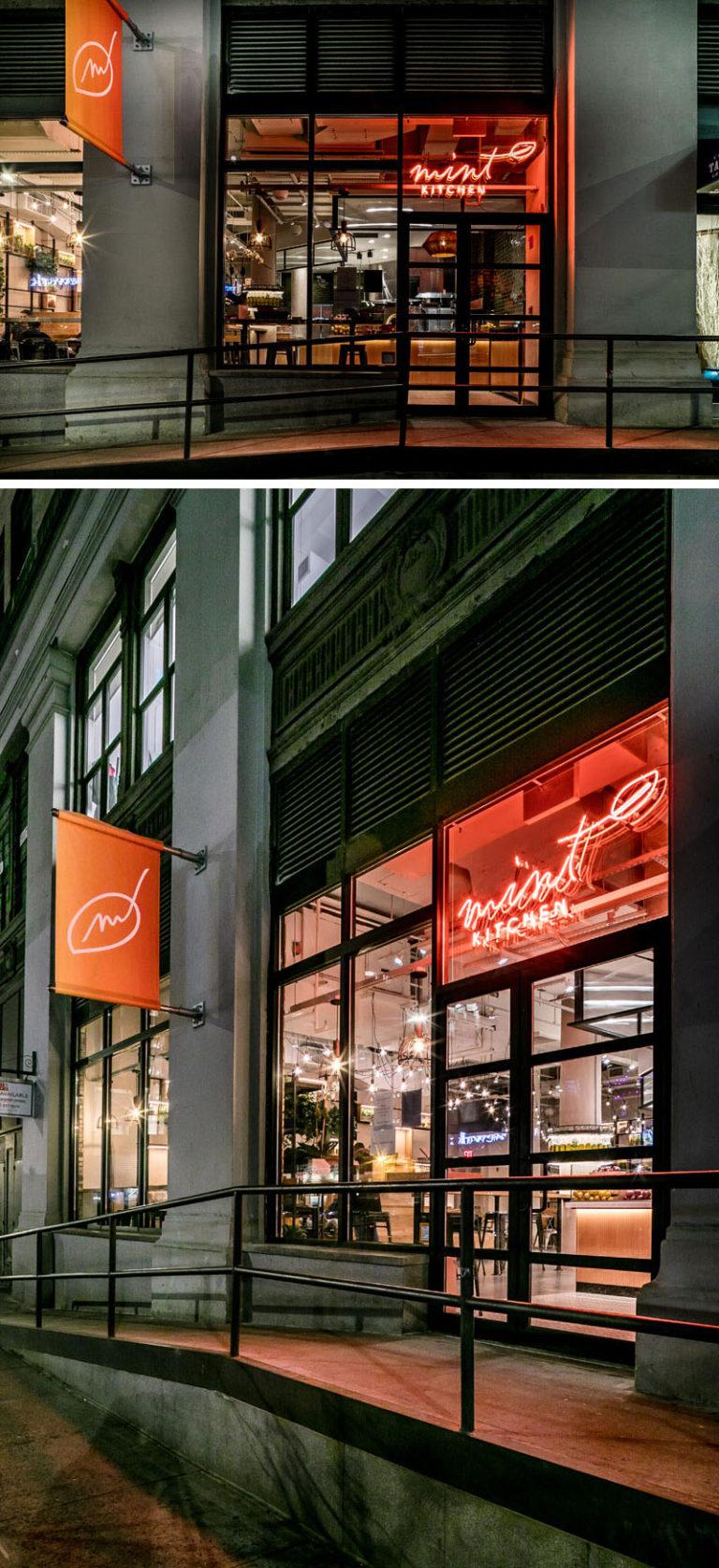 A New Fast Casual Restaurant by CRÈME / Jun Aizaki Architecture & Design in New York