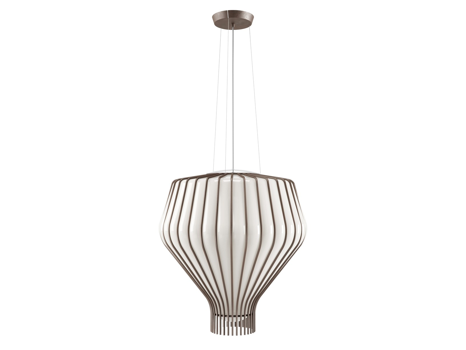 """The Indoor Hanging Lamps Collection """"Saya"""" Designed by Gio Milenni and Marco Fossati"""