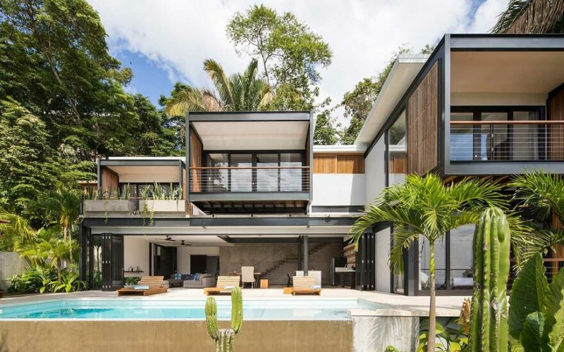 Joya Villas Maleku by Studio Saxe Architecture in Santa Teresa, Costa Rica