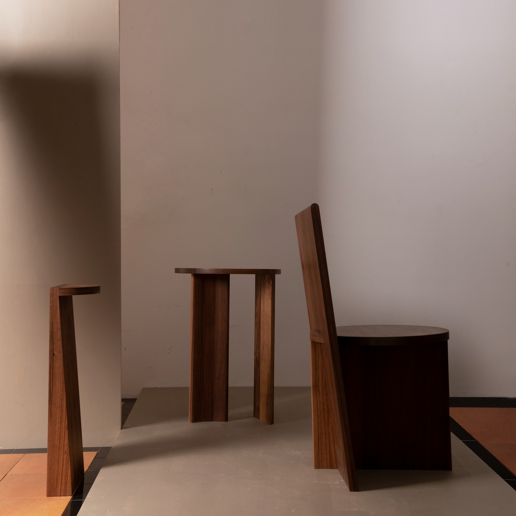 """Minimalist Furniture Collection """"One"""" by Campagna"""