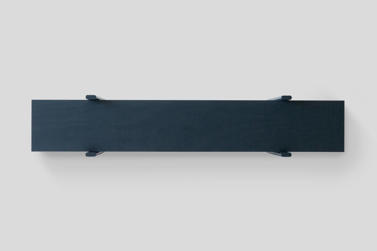 "Minimalist Shelf ""Mono"" by Mario Zoller"