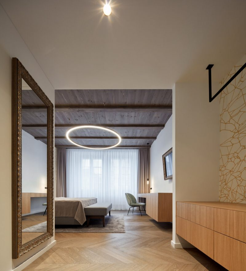 Renovation of Rooms in the Měšťák Hotel by Mar.s Architects in Český Krumlov, Czech Republic