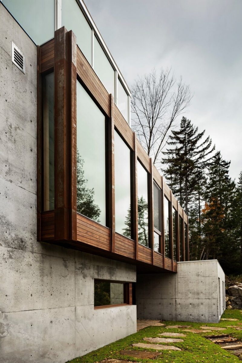 Residence Dans l'Escarpement by YH2 Architecture in Domaine Valdurn, Saint-Faustin-Du-Lac-Carré, Canada