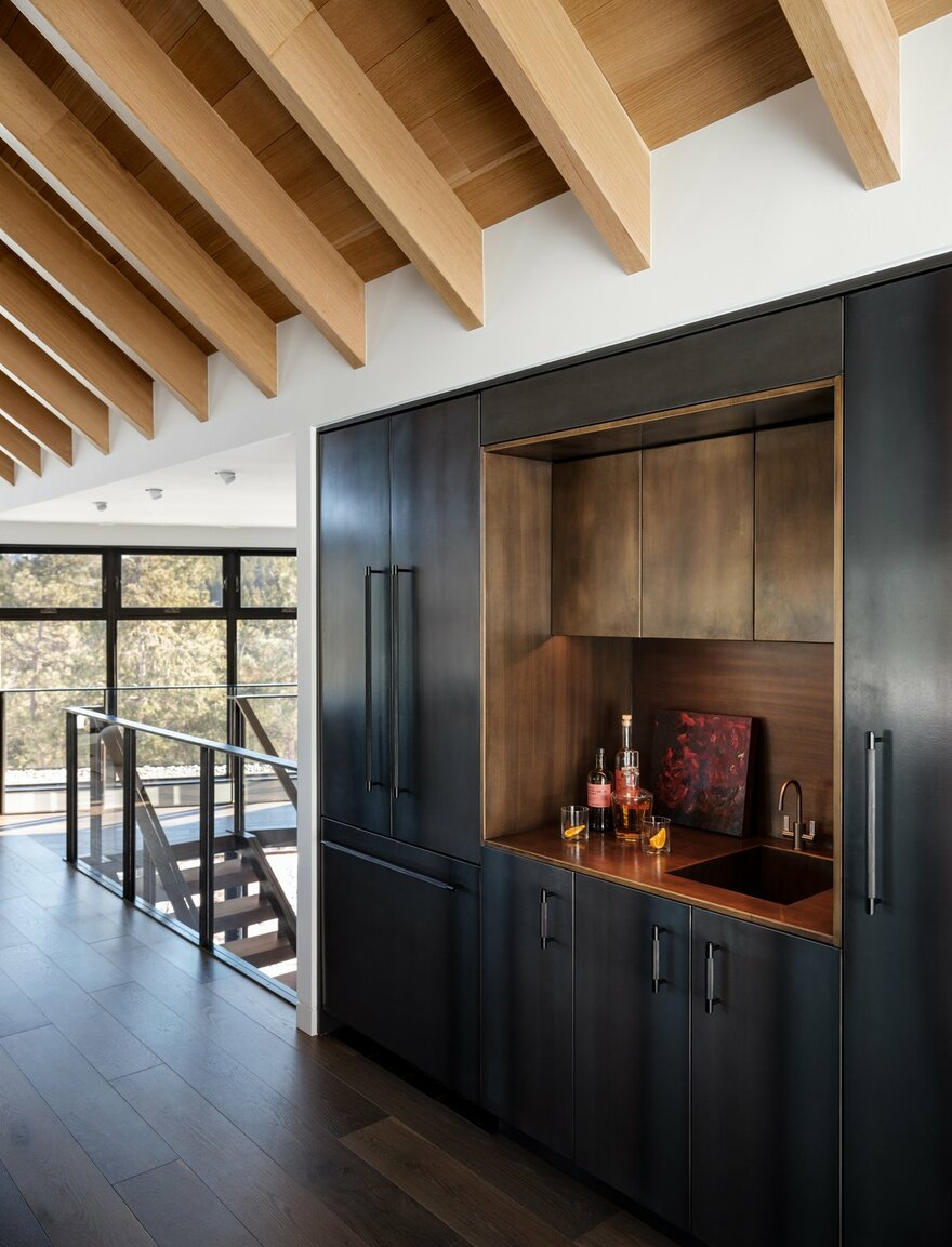 Boulder Mountain Cabin by HMH Architecture + Interiors in Boulder, Colorado, United States