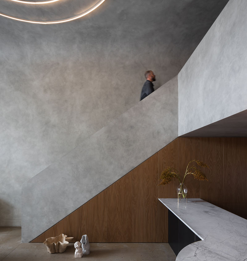 Dramatic And Moody Loft Apartment by Killing Matt Woods in Sydney, Australia