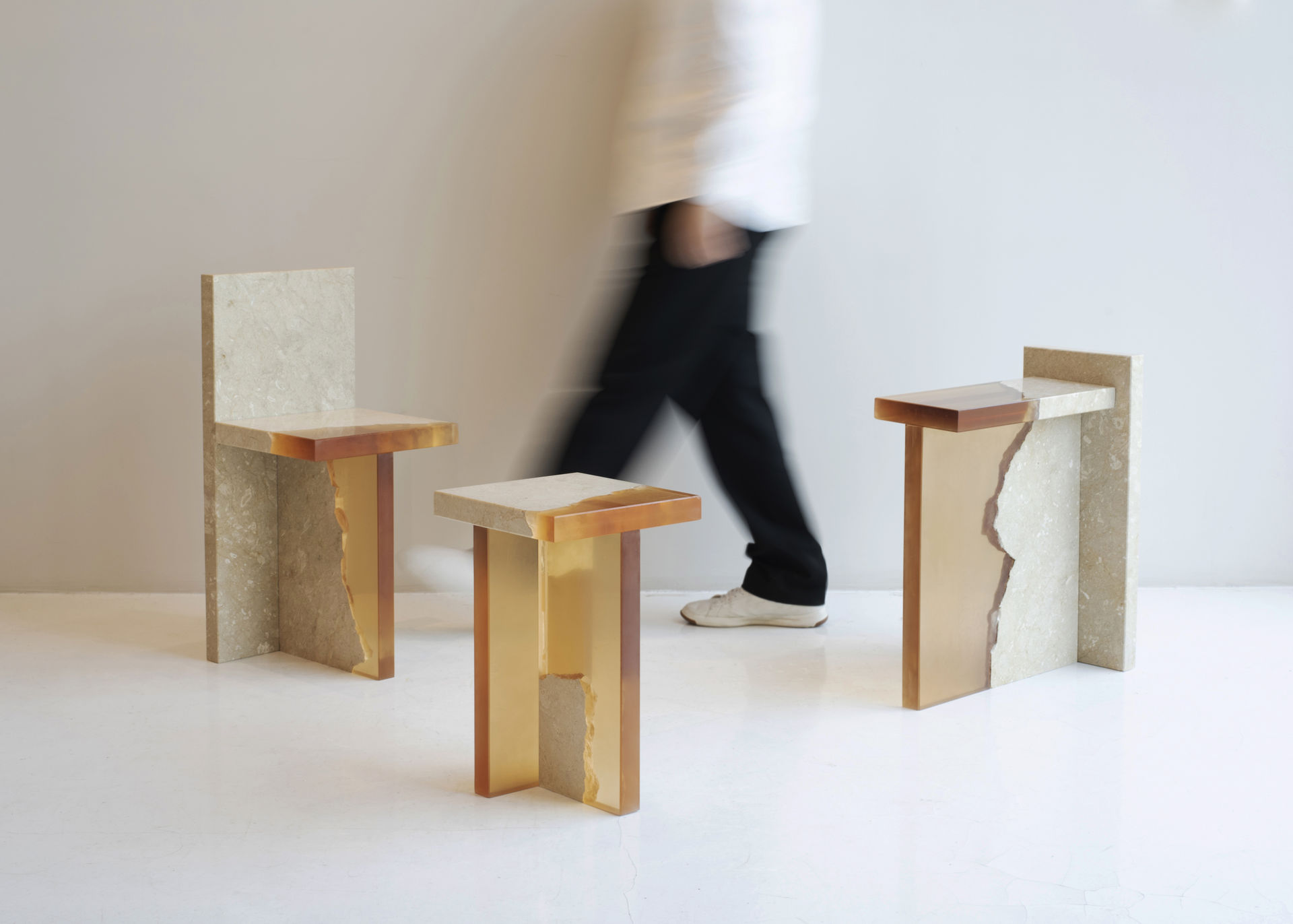 "Minimalist Furniture Collection ""Fragment Series"" by Fict Studio"