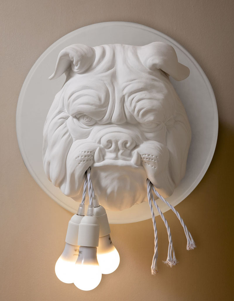 "Fun and Quirky Wall Lamp ""Amsterdam"" Designed by Matteo Ugolini"