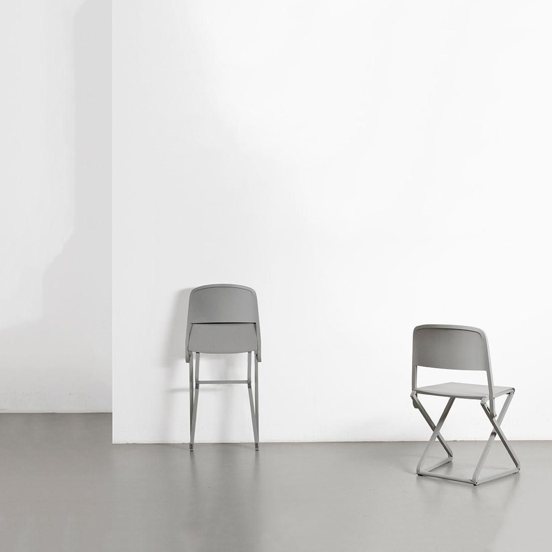 "Minimalist Folding Chair ""DFC"" by Simon Frambach"