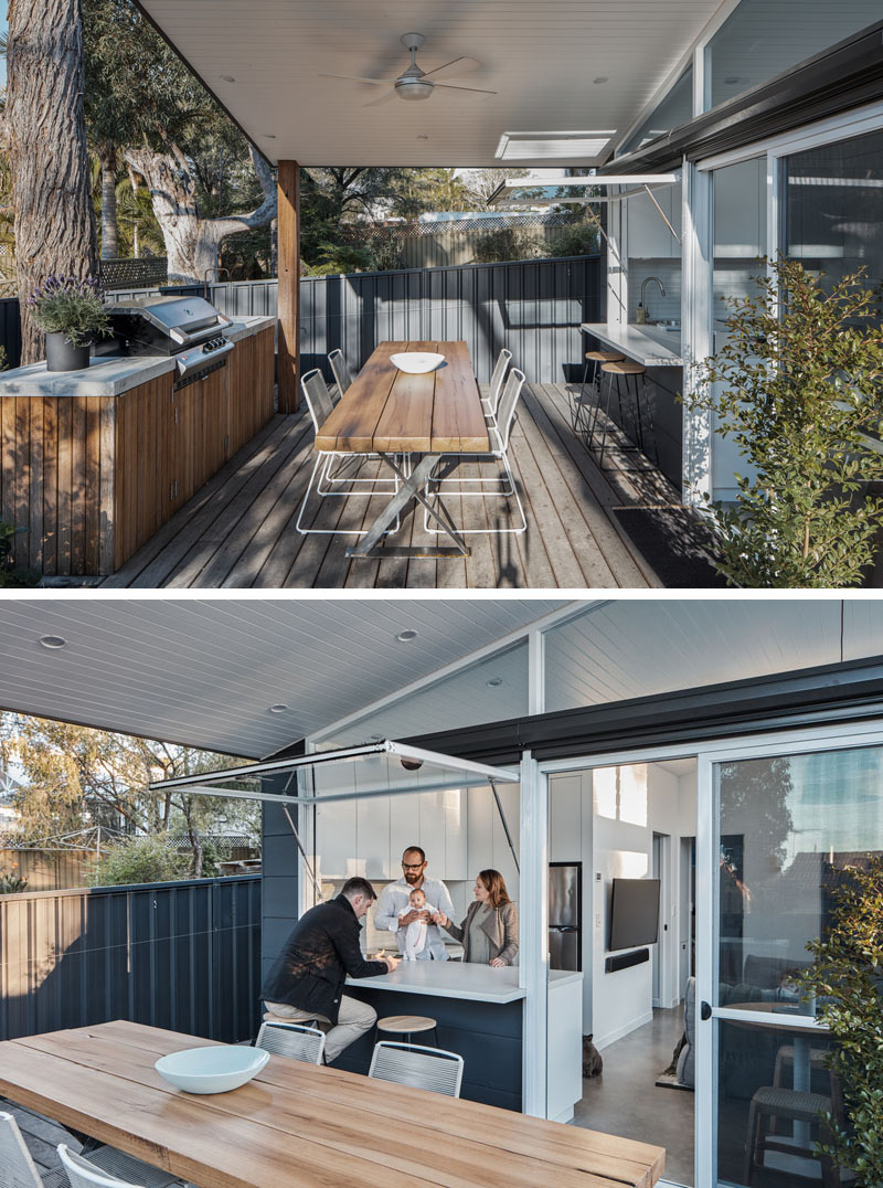 A Small House with a Swimming Pool by Ironbark Architecture in Sydney, Australia