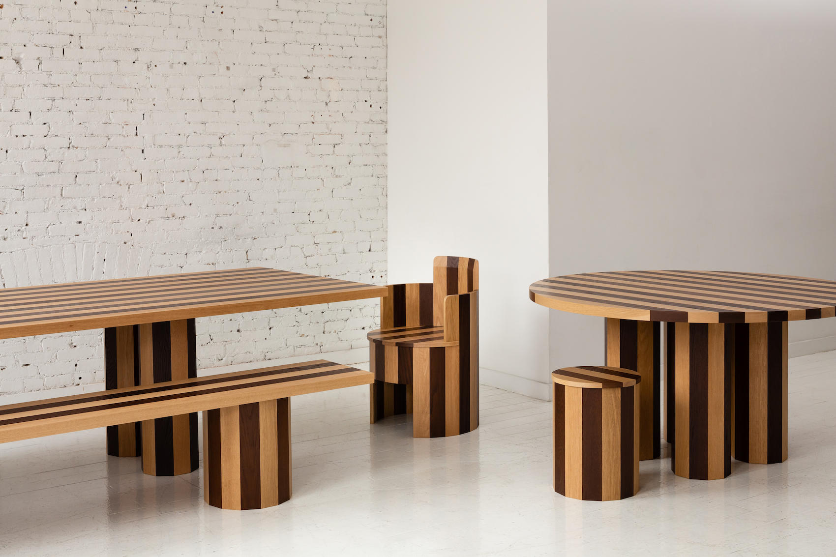 "Minimalist Collection of Furniture ""Cooperage"" by Fort Standard"