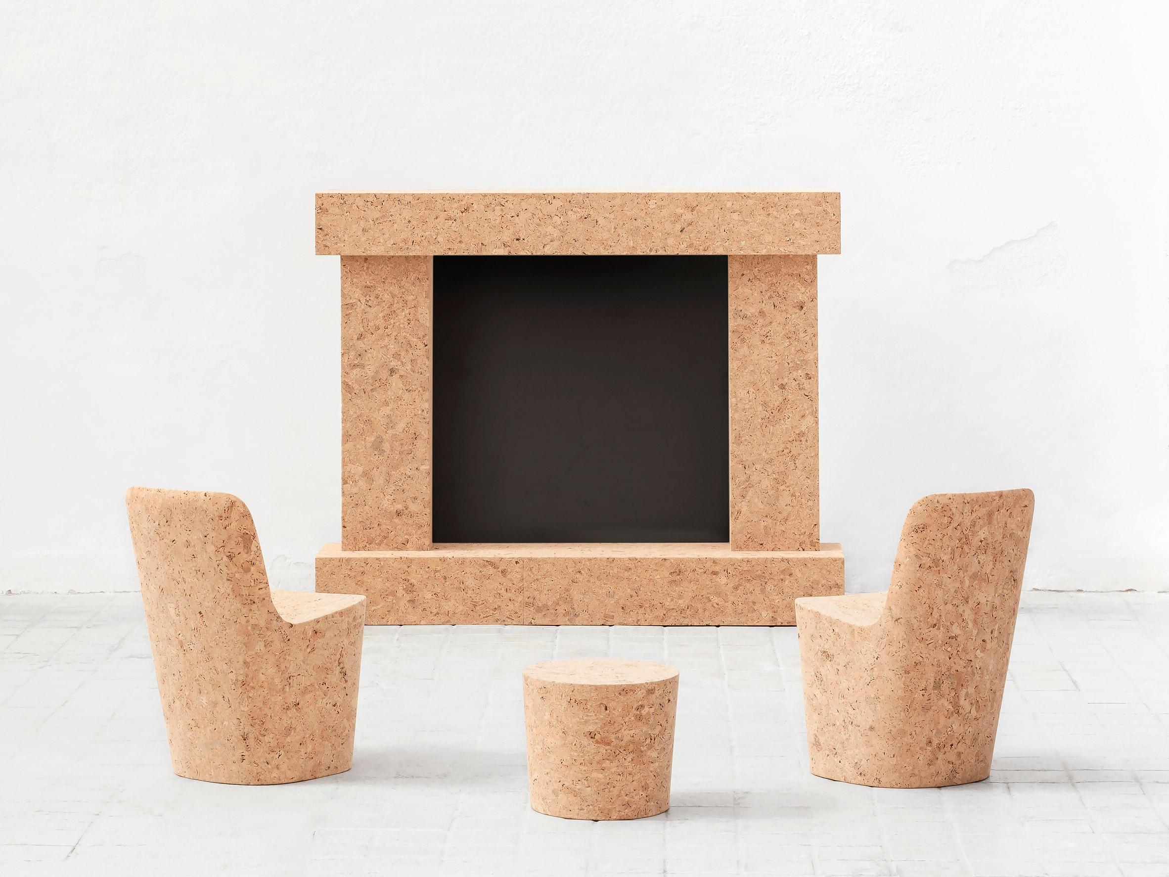 "Minimalist Furniture Collection ""Corks"" by Jasper Morrison"