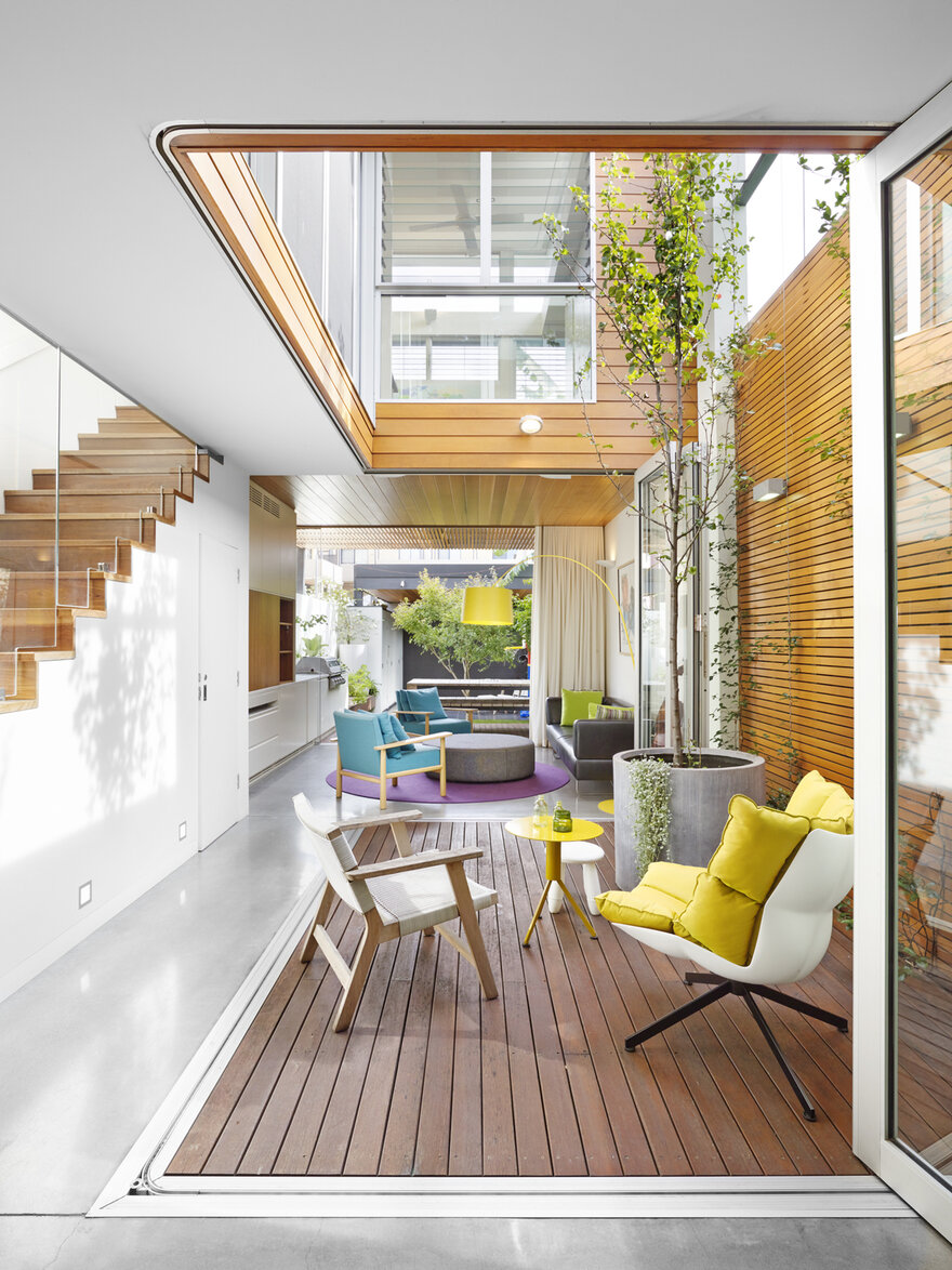 The Courtyard House by Elaine Richardson Architect in Sydney, Australia