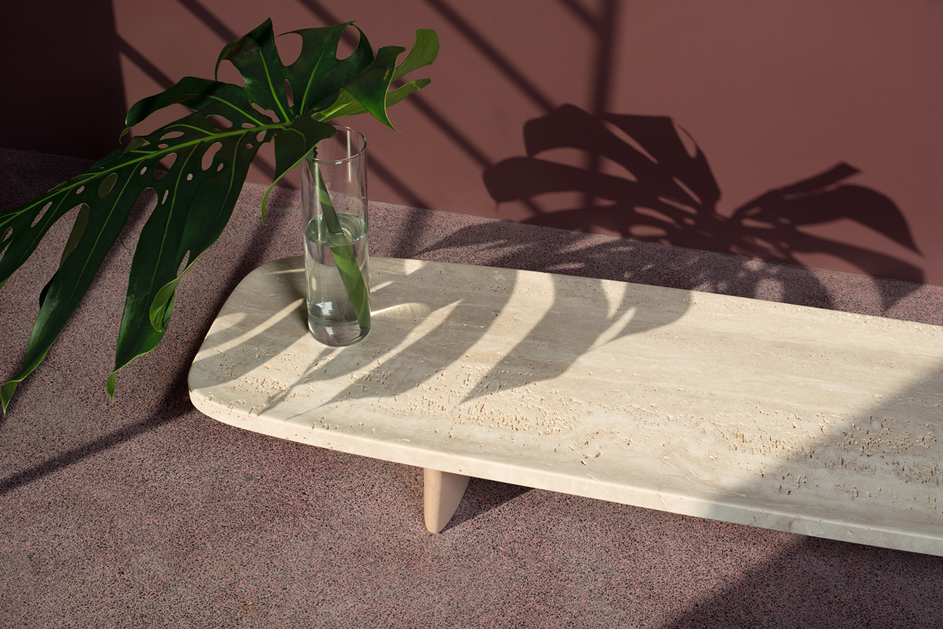 """Minimalist Low Board """"Matéria"""" by Christian Haas"""