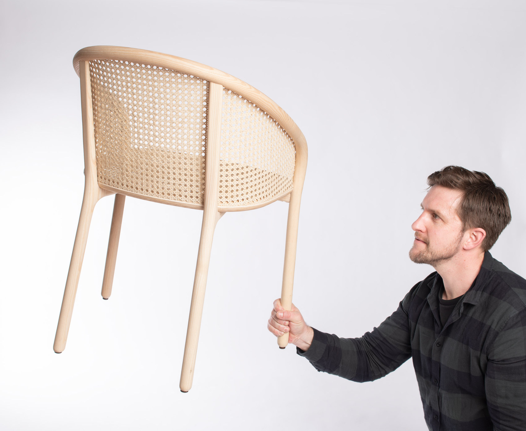 Latis Chair by Samuel Wilkinson