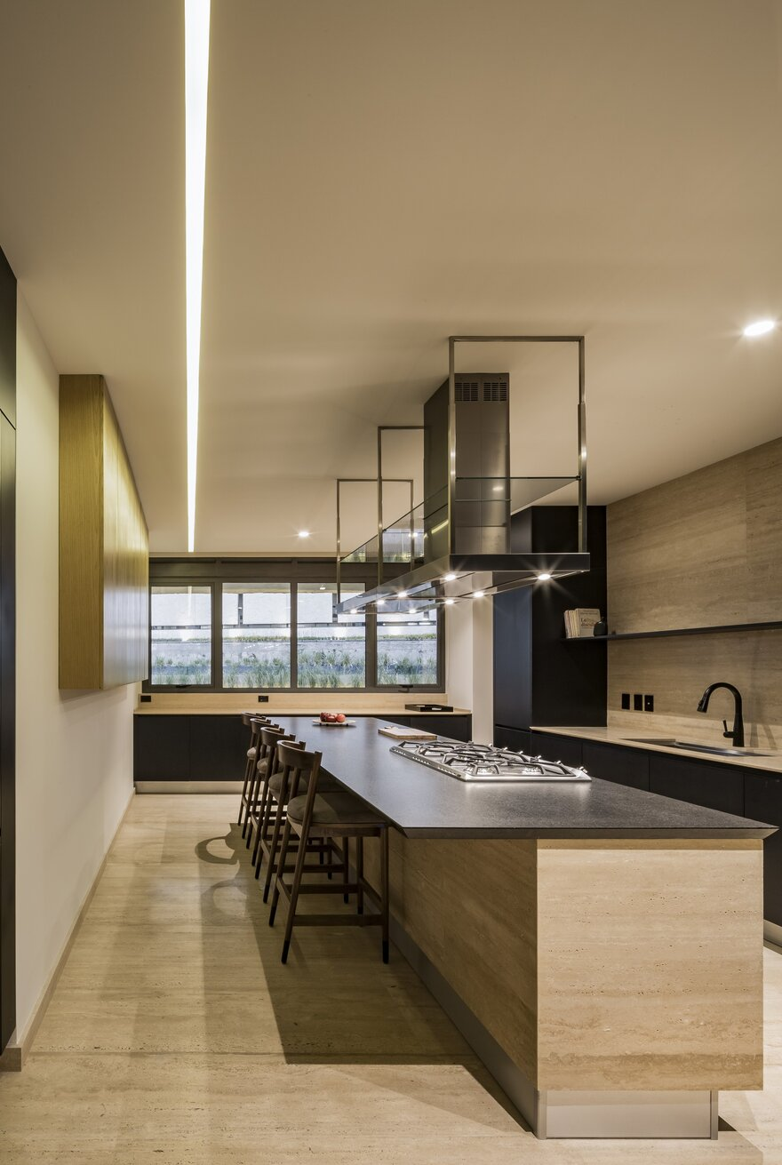 Apartment in Privee by Taller David Dana in Mexico City, Mexico