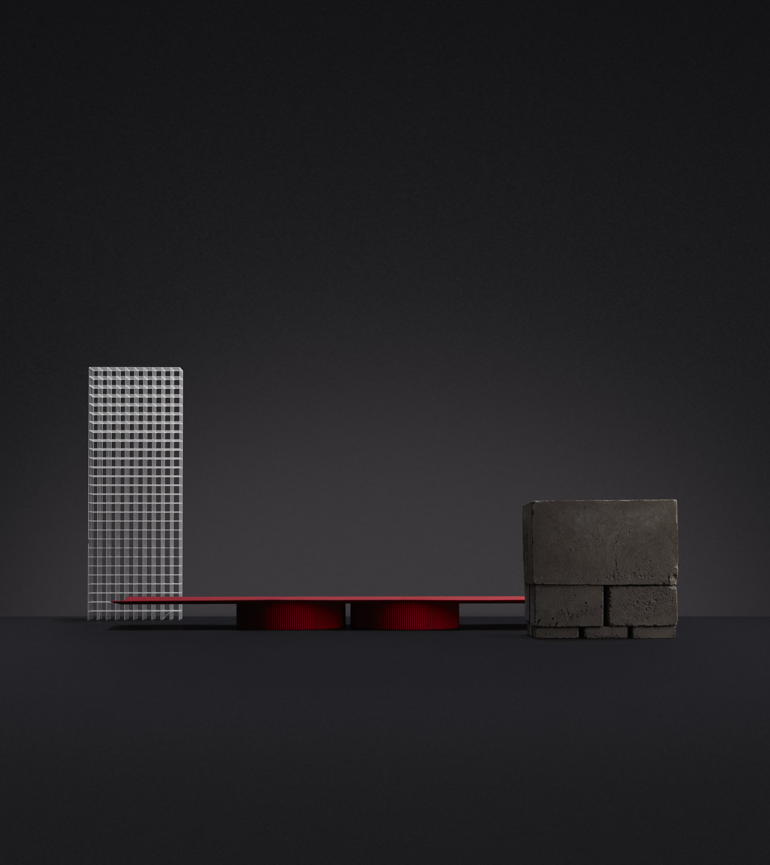 """Minimalist Collection of Furniture """"FL046"""" by Förstberg Ling"""