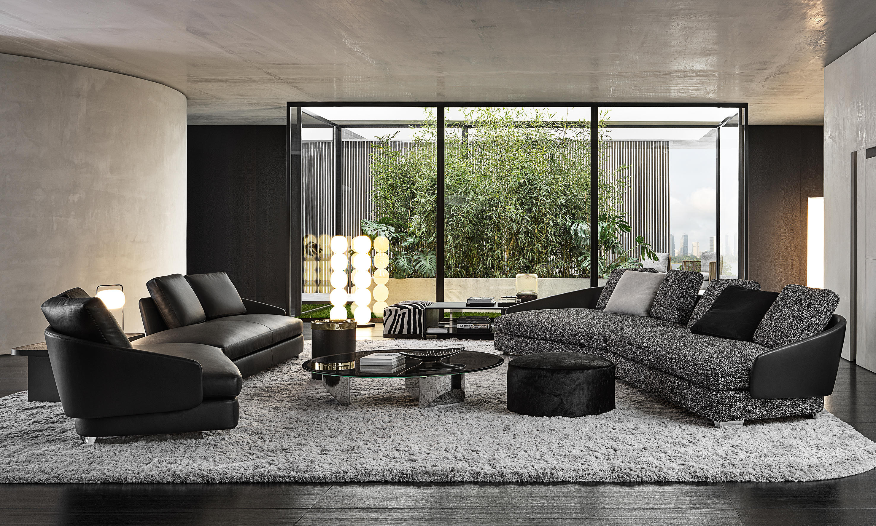 Lawson Seating Collection by Rodolfo Dordoni for Minotti