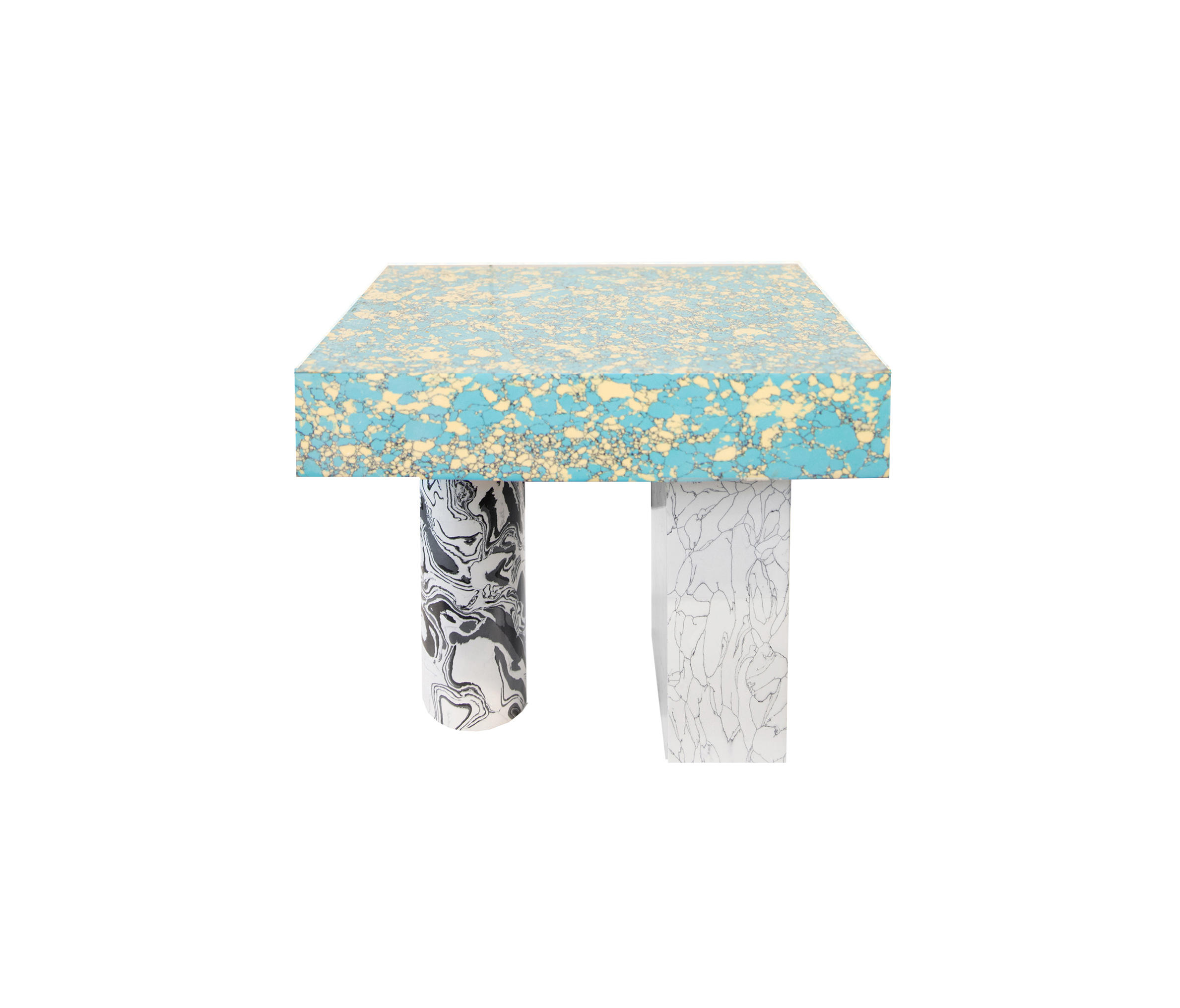 Swirl Side Table by Tom Dixon