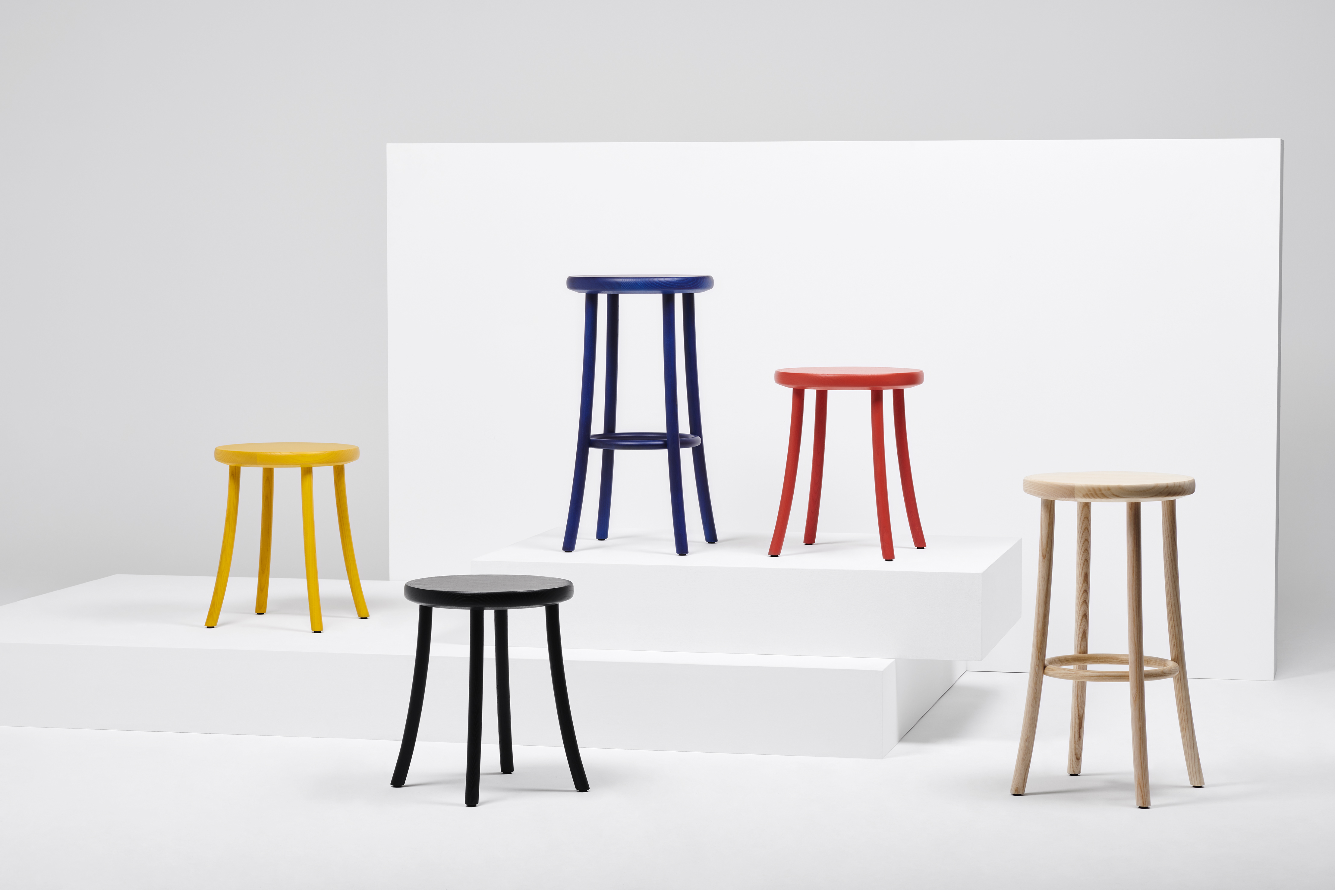 MC18 Zampa Stool by Jasper Morrison for Mattiazzi