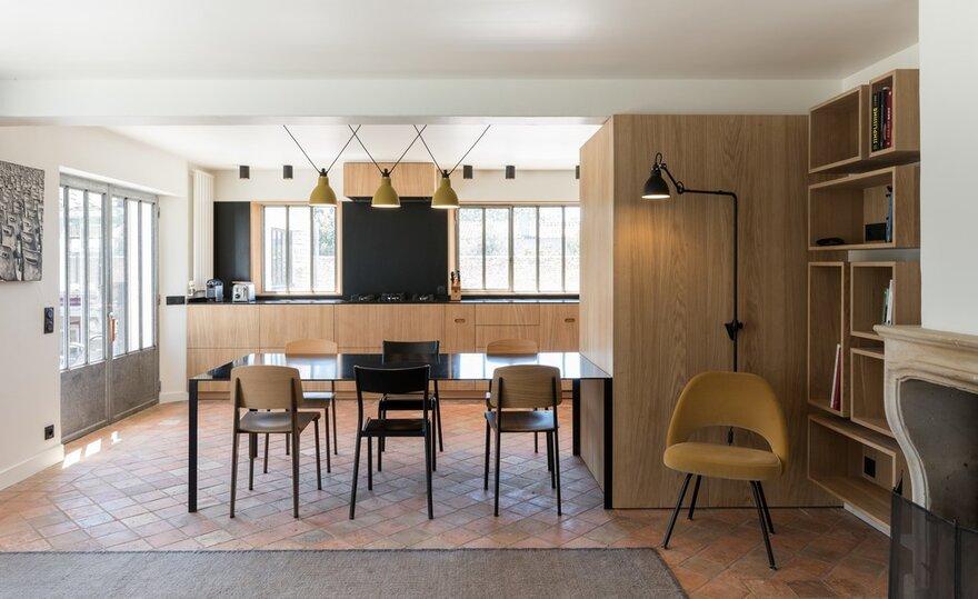Modern Seaside Home in Les Portes-en-Ré, France by Martins Afonso Atelier de Design
