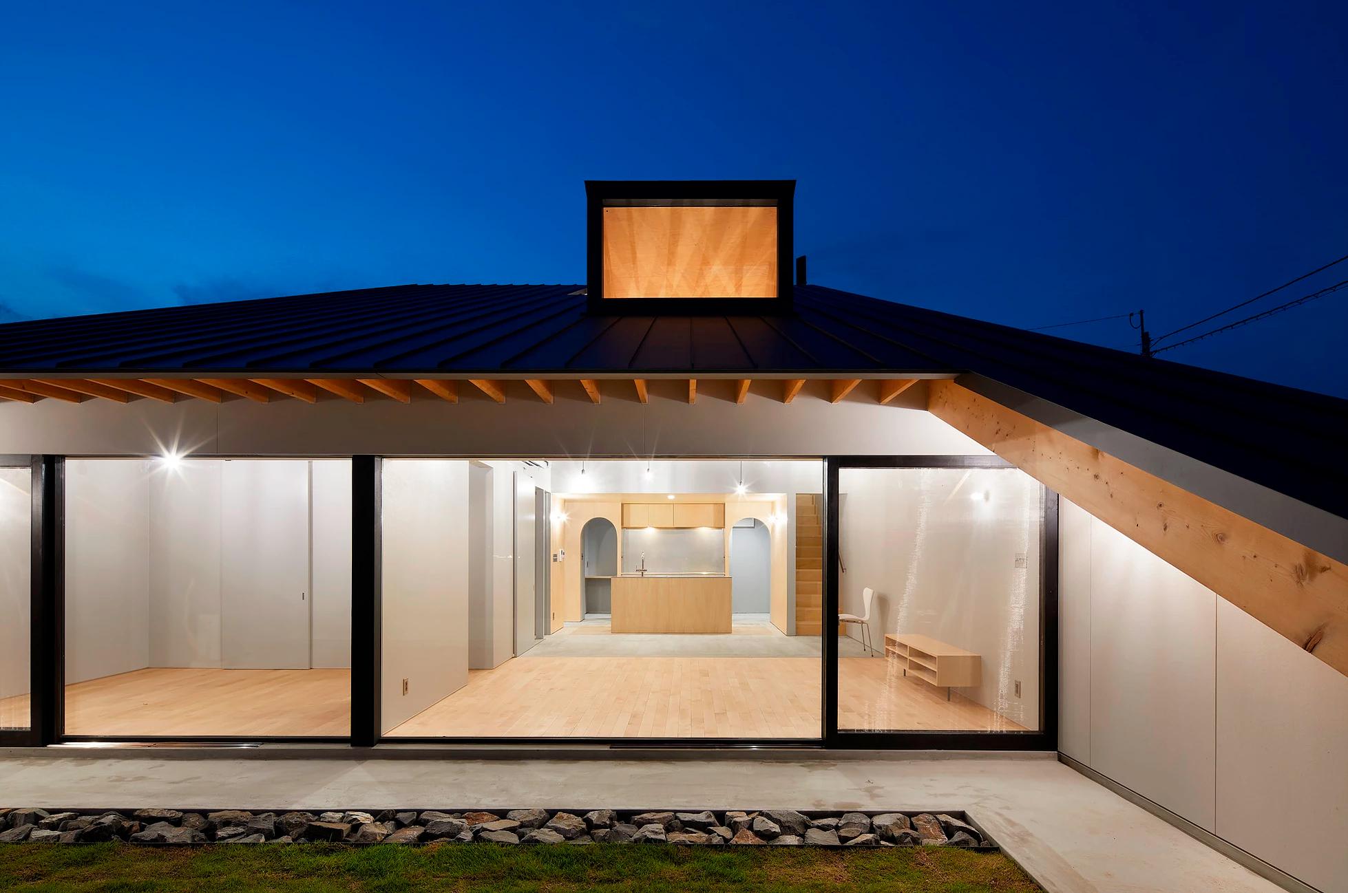 House by Kenta Eto Architects in Usuki, Japan