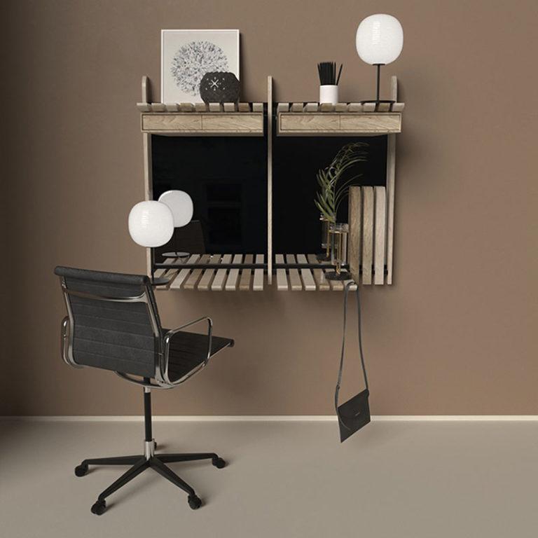 Modulares Möbelsystem von Artem Zakharchenko-Halytskyi